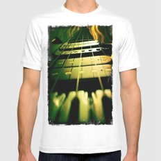 Play Mens Fitted Tee White MEDIUM