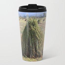 Harvested Sesame Crop Travel Mug