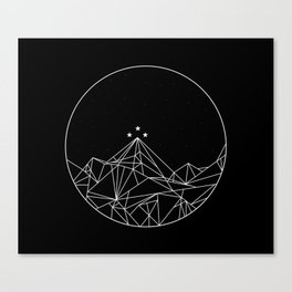 The Night Court Symbol Canvas Print