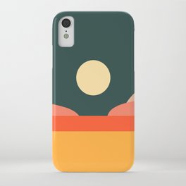 Geometric Landscape 14 iPhone Case