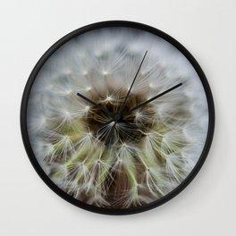 Dandelion Dream Wall Clock