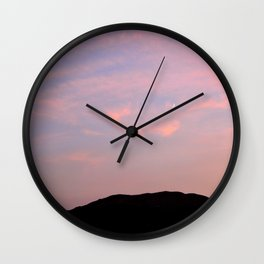 Moonrise over Death Valley Wall Clock