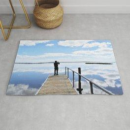 Lake Colac Reflections Rug