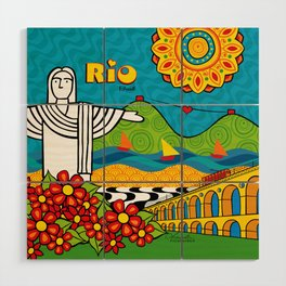 Rio de Janeiro 2015 Wood Wall Art