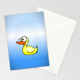 Rubber duck Stationery Cards