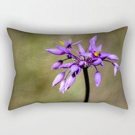 Pink Tassel flower Rectangular Pillow