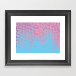 Pastel love Framed Art Print