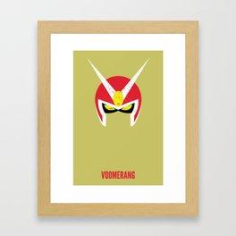 Viewtiful Joe - Voomerang Framed Art Print