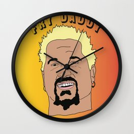 FRY DADDY Wall Clock