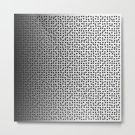 black dots Metal Print