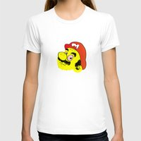 mario T-shirts featuring Mario by Craig Johnson aka CCCRRRAAAIIIGGG
