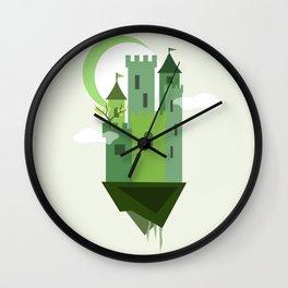 Sky Castle 2 Wall Clock