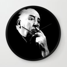 ALFRED HITCHCOCK: Legend Wall Clock