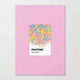 Pantone Sprinkles Canvas Print