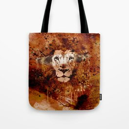 WATERCOLOR KING Tote Bag