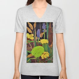 Tom Thomson - Water Flowers - Digital Remastered Edition Unisex V-Neck