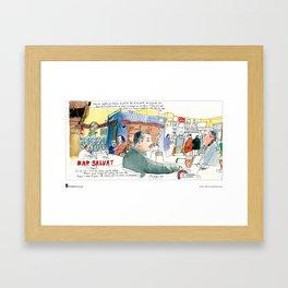 "Swasky, ""Plaça Joan Peiro"" Framed Art Print"