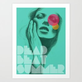 Deadbeat Summer Art Print