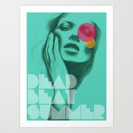 Deadbeat Summer Art Print