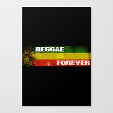 Reggae Is Forever II Canvas Print