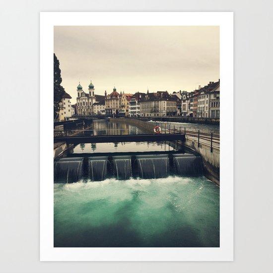 Lucerne, Switzerland Art Print