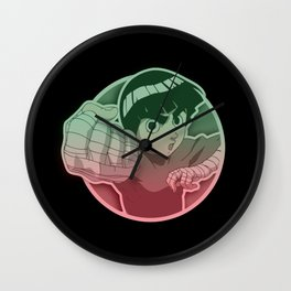 Rock Lee Drunken Fist v.2 Wall Clock