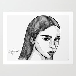 MYA Art Print