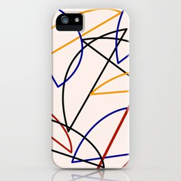 Halves all the way iPhone Case