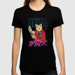 Akita Retrowave T-shirt
