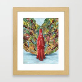 I'd Like to Buy the World a Smile Framed Art Print