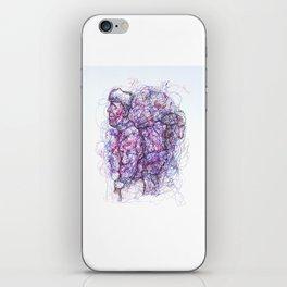 Bolshevik Backpacker iPhone Skin