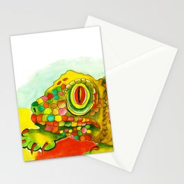 Yellow Lizzard Stationery Cards