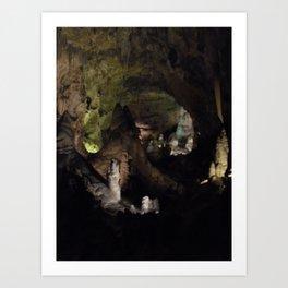 Carlsbad Caverns Art Print