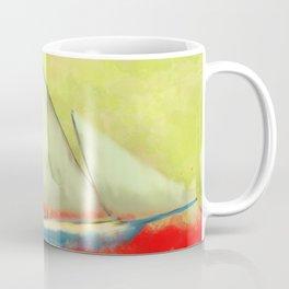 Abstract-ship Coffee Mug