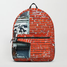 Old Windows Bricks Backpack