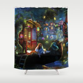 Wanderer's Cove Shower Curtain