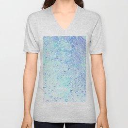 Wet abstract B Unisex V-Neck