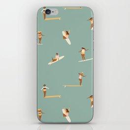 Surf sistas iPhone Skin