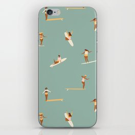 Surf sistas iPhone Skin