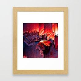 i_built_a_machine_to_help_me_understand_death Framed Art Print