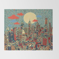 philadelphia Throw Blanket