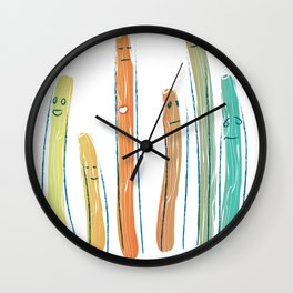 Loveplants Wall Clock