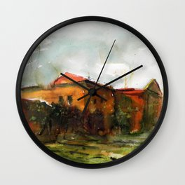 Who is in the house of my heart Wall Clock