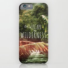 Let's Escape to Wilderness iPhone 6s Slim Case