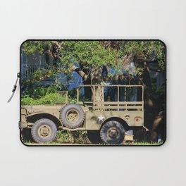Military Jeep Laptop Sleeve