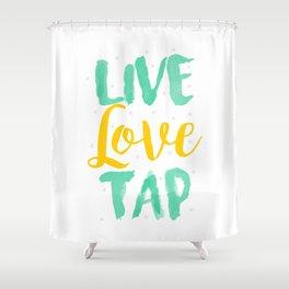 Tap Dancer Live Love Tap Dancing Ballet Tap Shoes Shower Curtain