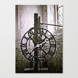 Ten past eight Canvas Print