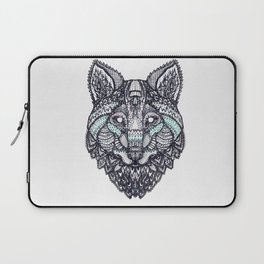 Psychedelic Wolf Laptop Sleeve