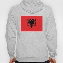 Albanian Flag - Hight Quality image Hoody