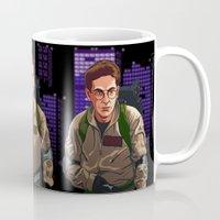 ghostbusters Mugs featuring Ghostbusters by Ryan Ketley